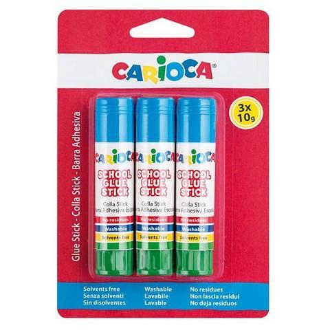 Κόλλα Stick Carioca 10gr Σετ=3τεμ