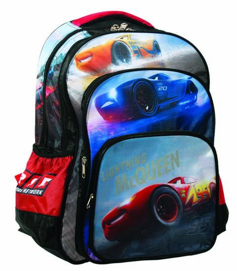 Gim Cars Racing Σχολική Τσάντα Δημοτικού 2019
