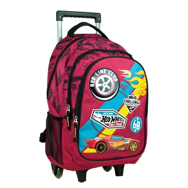 Σχολικό Τρόλεϊ Hot Wheels  Δημοτικού Gim (349-25074) 2020