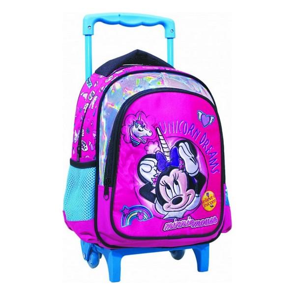Gim Minnie Unicorn Σχολικό Τρόλεϊ Νηπίου (340-51072)