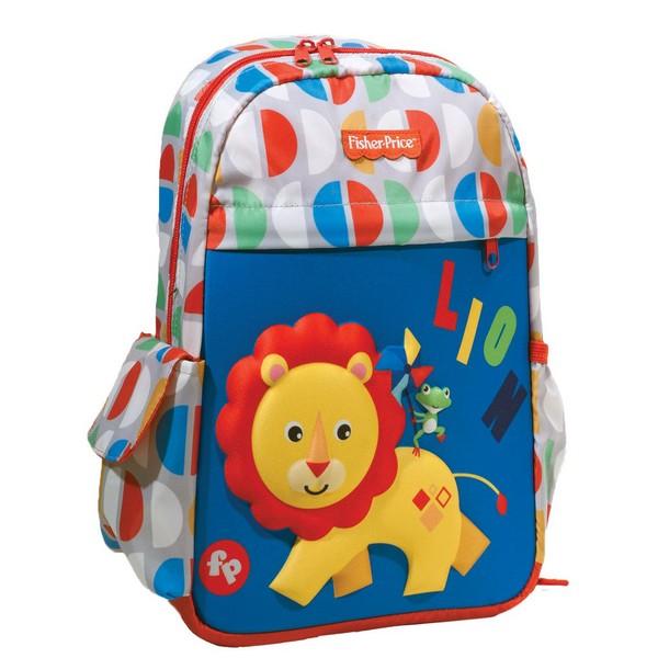 Fisher Price Σχολική Τσάντα Νηπίου Lion (349-06054) 2020