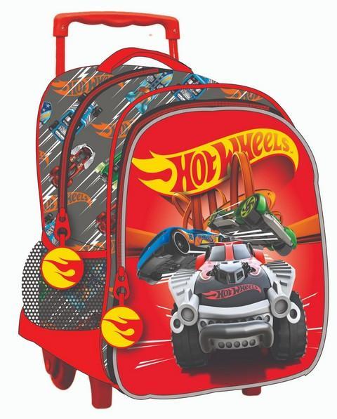 Gim Hot Wheels Σχολικό Τρόλεϊ Νηπίου 2019