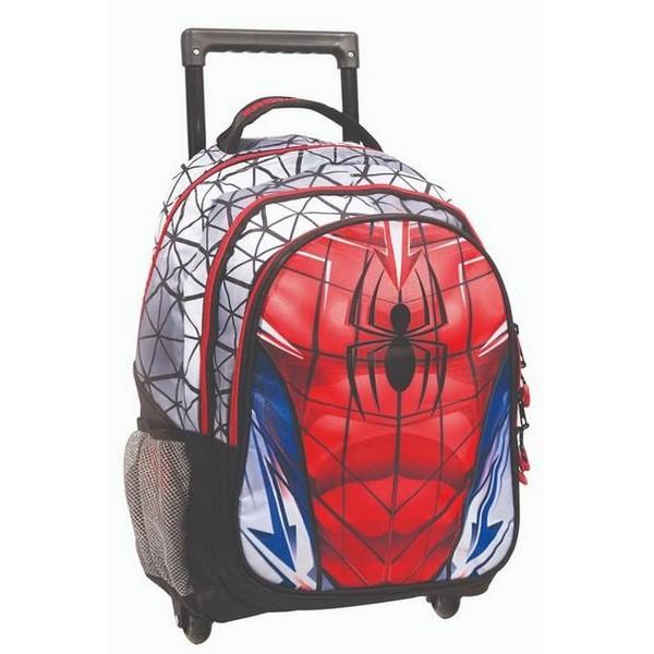 Spiderman Suit Σχολικό Τρόλεϊ Δημοτικού Gim (337-74074)