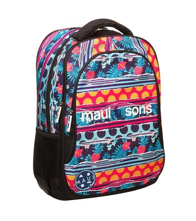 Maui and Sons Σχολική Τσάντα Polka (339-89031)