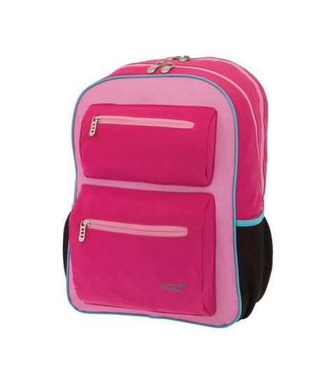 POLO Σχολική Τσάντα Πλάτης Surface Ροζ (901-241-19)