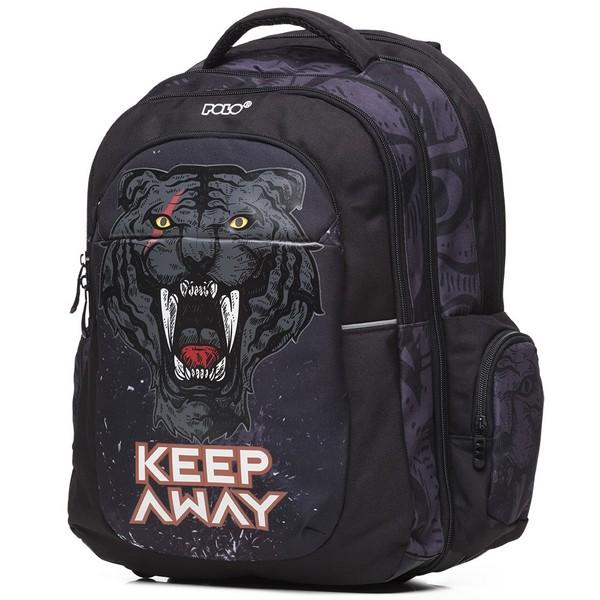 POLO Σχολική Τσάντα Extenc Glow Puma (901-266-8011) 2020