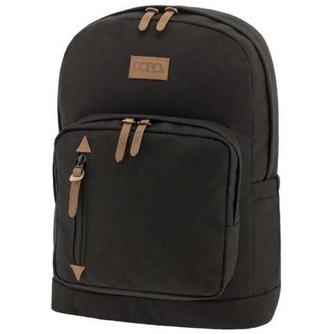 POLO Σχολική Τσάντα Πλάτης Bole Style Μαύρο (901-243-02) 2019