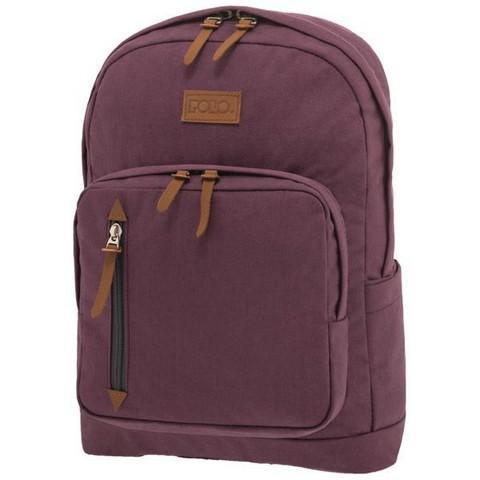 POLO Σχολική Τσάντα Πλάτης Bole Style Μωβ (901-243-13) 2019