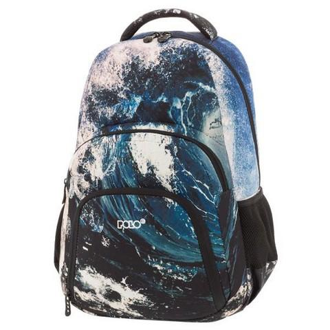 POLO Σχολική Τσάντα Πλάτης Imagno Style (9-01-260-02)