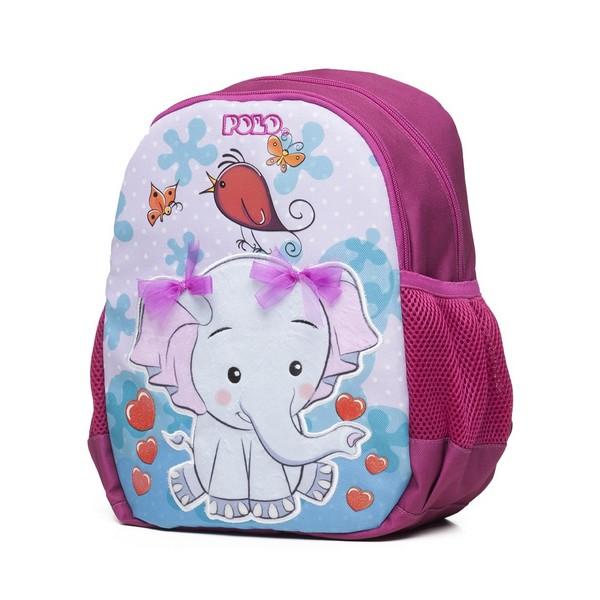 POLO Σχολική Τσάντα Νηπίου Elephant (901-014-8035) 2020
