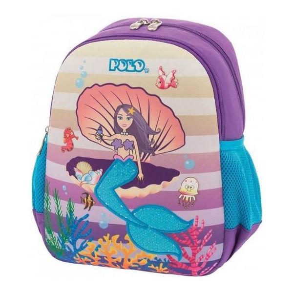POLO Σχολική Τσάντα Νηπίου Mermaid (901-014-62)