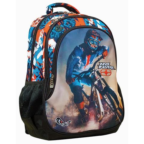 Σχολική Τσάντα Πλάτης No Fear Bmx Mountain Bike (347-73031) 2020