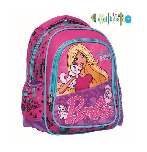 Σχολική Τσάντα Νηπίου Gim Barbie Pets (349-54054)