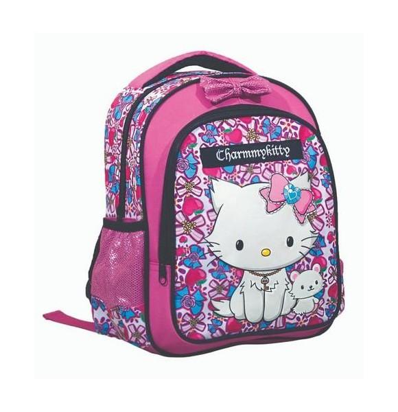 Σχολική Τσάντα Νηπίου Charmmy Kitty Gim  (335-07054)