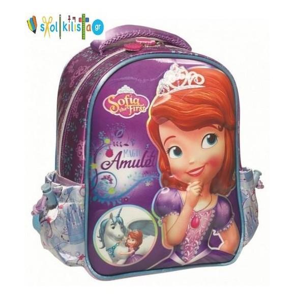 Σχολική Τσάντα Νηπίου Gim Princess Sofia Unicorn (340-04054)