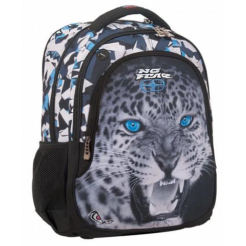 Σχολικό Σακίδιο με 3 Θήκες Unisex No Fear Leopard (347-57031)